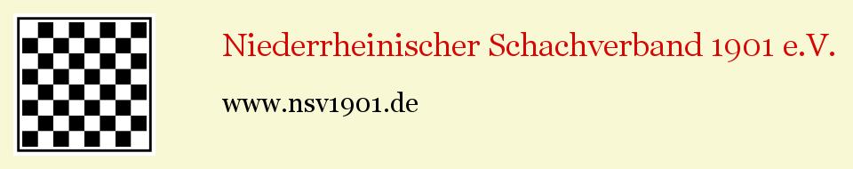 Niederrheinischer Schachverband 1901 e.V.